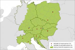 Geografski smještaj projektnih partnera