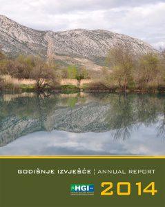 Godišnje izvješće 2014 naslovnica