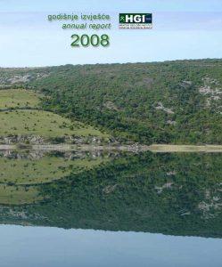 Godišnje izvješće 2008 naslovnica