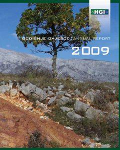 Godišnje izvješće 2009 naslovnica