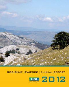 Godišnje izvješće 2012 naslovnica