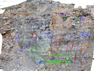 Kartiranje setova diskontinuiteta na dijelu kamenoloma Apatišan sustavom ShapeMetrix3D