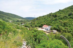 Otok Vis, vodocrpilište Korita – hrvatsko pilot područje