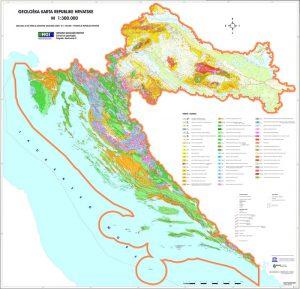 Osnovna geološka karta RH 1:300.000