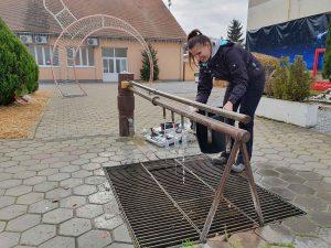 uzorkovanje arteškog zdenca kod Slavonskog broda