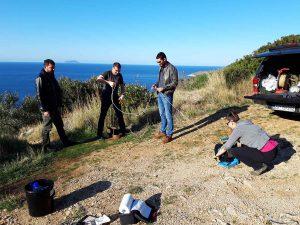 uzorkovanje u bušotini na otoku Visu