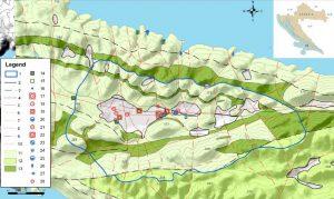 Hidrogeološki zemljovid pilot područja Blatsko polje na otoku Korčuli