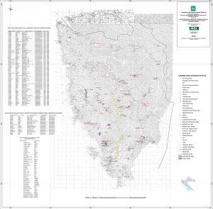 Karta mineralnih sirovina Istarske županije