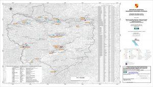 Karta mineralnih sirovina Krapinsko-zagorske županije