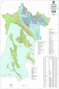 Karta mineralnih sirovina Primorsko-goranske županije