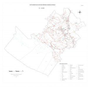 Karta mineralnih sirovina Šibensko-kninske županije
