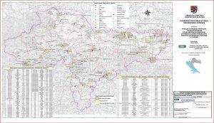 Karta mineralnih sirovina Varaždinske županije