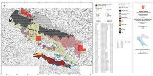 Karta mineralnih sirovina Virovitičko-podravske županije