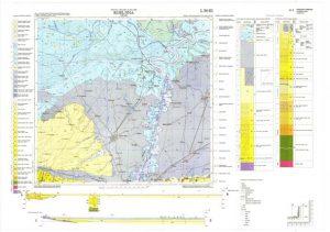 Osnovna geološka karta RH 1:100.000 list Bijeljina