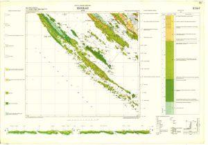 Osnovna geološka karta RH 1:100.000 list Biograd