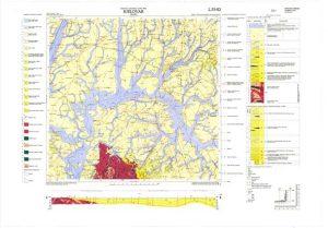 Osnovna geološka karta RH 1:100.000 list Bjelovar