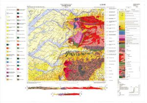 Osnovna geološka karta RH 1:100.000 list Daruvar