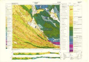 Osnovna geološka karta RH 1:100.000 list Drniš