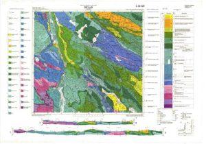 Osnovna geološka karta RH 1:100.000 list Drvar