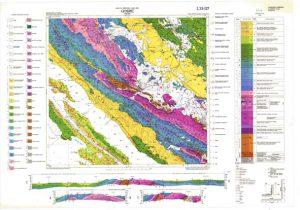Osnovna geološka karta RH 1:100.000 list Gospić