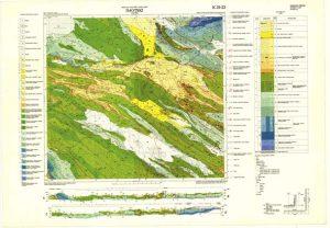 Osnovna geološka karta RH 1:100.000 list Imotski