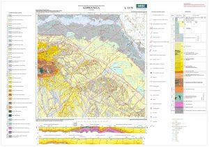 Osnovna geološka karta RH 1:100.000 list Koprivnica