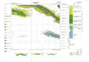 Osnovna geološka karta RH 1:100.000 list Korčula