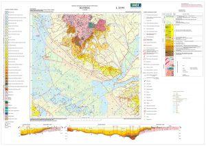 Osnovna geološka karta RH 1:100.000 list Kutina