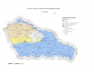 Karta geološke potencijalnosti Međimurske županije