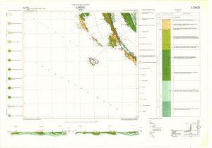 Osnovna geološka karta RH 1:100.000 list Lošinj
