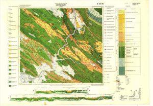 Osnovna geološka karta RH 1:100.000 list Metković