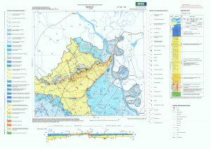 Osnovna geološka karta RH 1:100.000 list Mohač