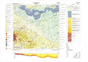 Osnovna geološka karta RH 1:100.000 list Našice