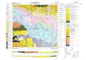 Osnovna geološka karta RH 1:100.000 list Nova Gradiška