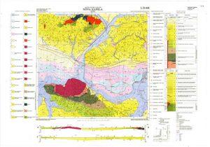 Osnovna geološka karta RH 1:100.000 list Nova Kapela