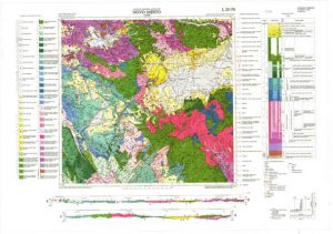 Osnovna geološka karta RH 1:100.000 list Novo Mesto