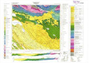 Osnovna geološka karta RH 1:100.000 list Obrovac