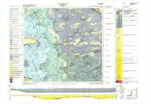 Osnovna geološka karta RH 1:100.000 list Odžaci