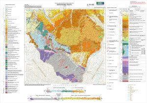 Osnovna geološka karta RH 1:100.000 list Bosanski Novi