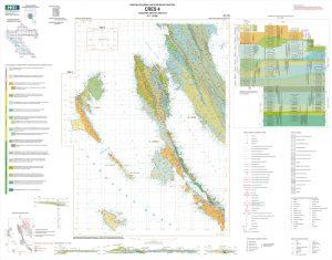 Osnovna geološka karta RH 1:50.000 Cres 4