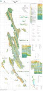 Osnovna geološka karta RH 1:50.000 Cres i Lošinj