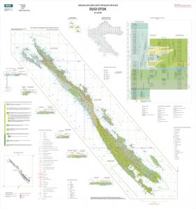 Osnovna geološka karta RH 1:50.000 Dugi otok