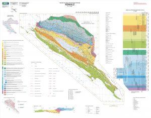 Osnovna geološka karta RH 1:50.000 Konavle