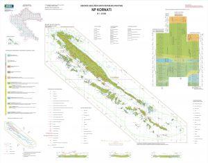 Osnovna geološka karta RH 1:50.000 NP Kornati