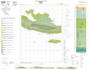 Osnovna geološka karta RH 1:50.000 Omiš 3