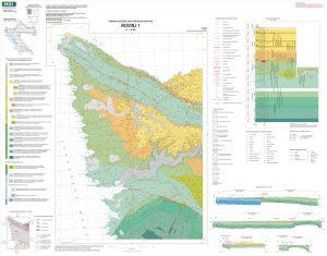 Osnovna geološka karta RH 1:50.000 Rovinj 1