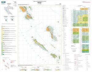 Osnovna geološka karta RH 1:50.000 Silba 1