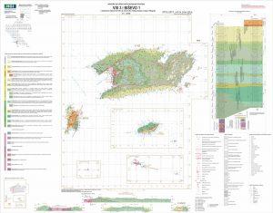 Osnovna geološka karta RH 1:50.000 Vis 3 i Biševo 1