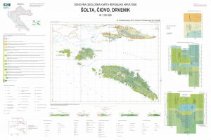 Osnovna geološka karta RH 1:50.000 Šolta Čiovo Drvenik
