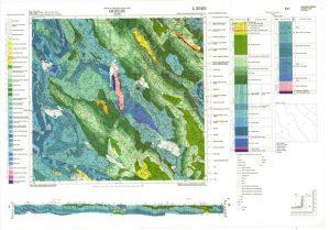 Osnovna geološka karta RH 1:100.000 list Ogulin